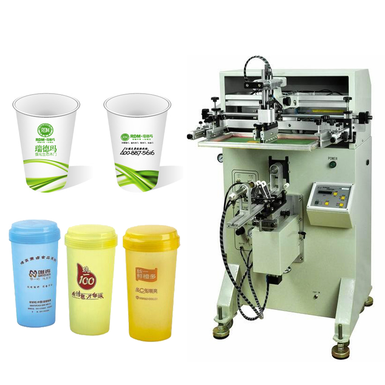 Plastic paper cup cylindrical silk screen printing machine LY-4A