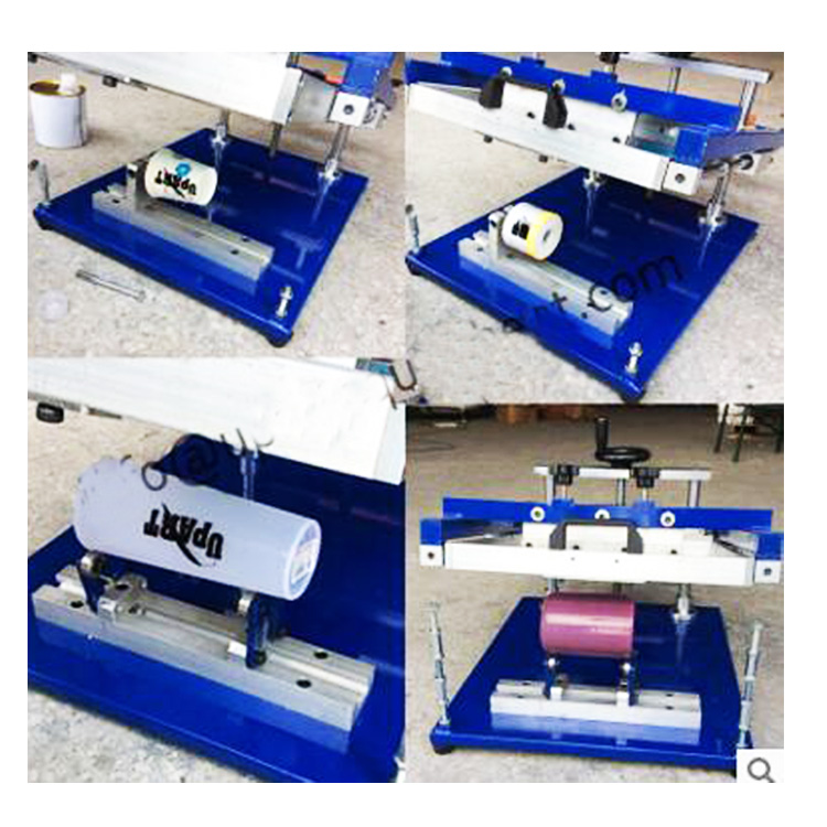 cup bottle pen manual cylindrical screen printer
